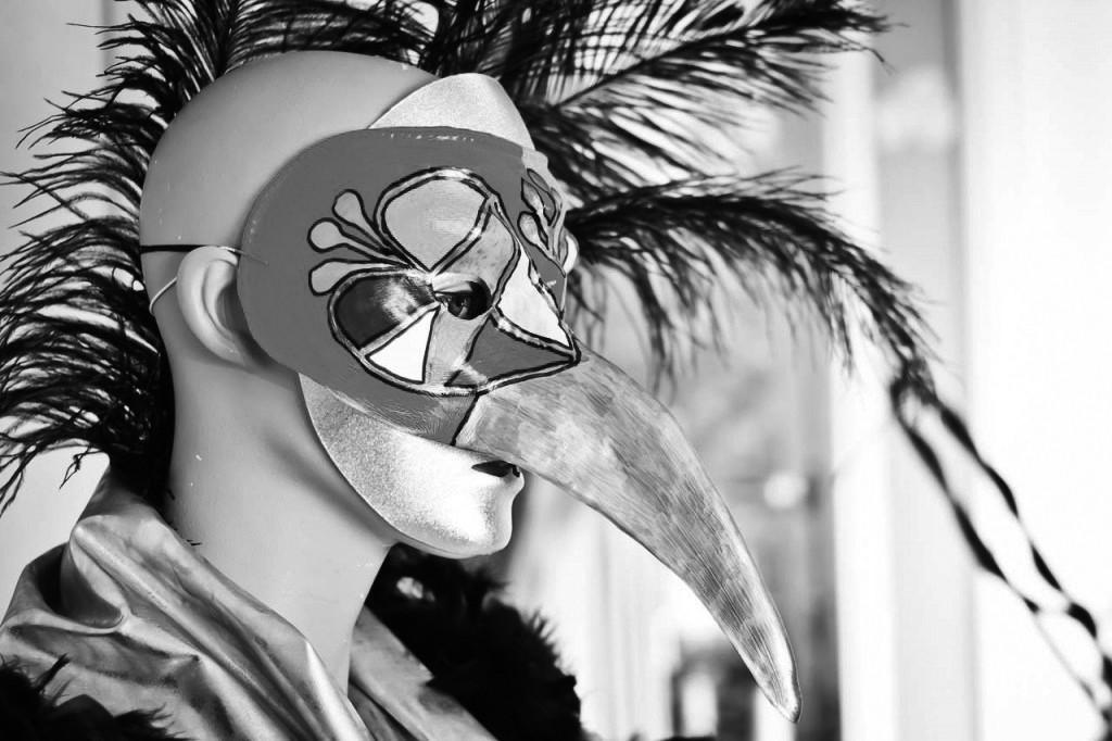 vogelkop-zwart-wit