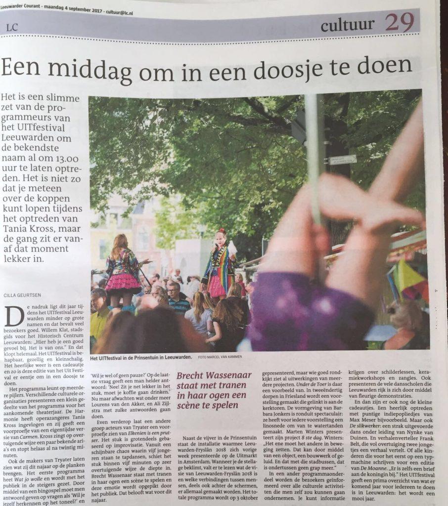 recentie LC Nynke van Duinen uitfestival